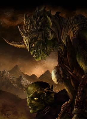 Bolg The Goblin King Poster