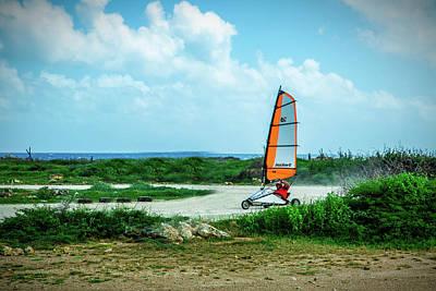 Bonaire Land Sailor  Poster