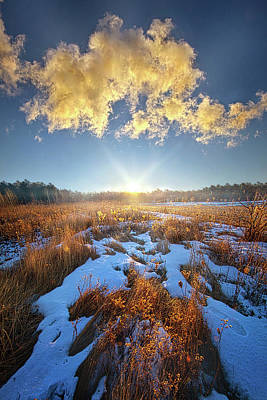 Poster featuring the photograph Bound Within The Silence by Phil Koch