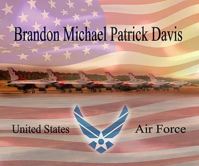 Brandon Fleece Blanket Poster