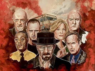 Breaking Bad Family Portrait Poster