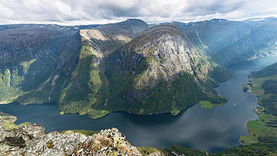 Poster featuring the photograph Breiskrednosie, Norway by Andreas Levi