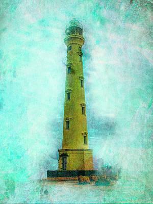 California Lighthouse Aruba Poster