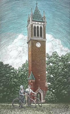 Campanile 1928 Poster