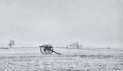 Cannon Out In The Field Poster