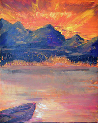 Canoe Trips Poster