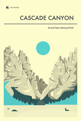 Cascade Canyon 1 Poster