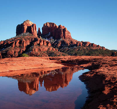 Cathedral Rock Reflection II Poster