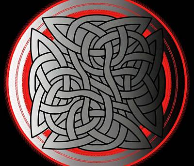 Celtic Shield Knot 4 Poster