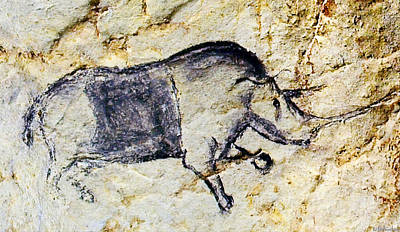 Chauvet Rhinoceros Poster