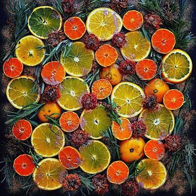 Citrus Time Poster