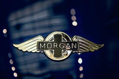 Classic Morgan Name Plate Poster