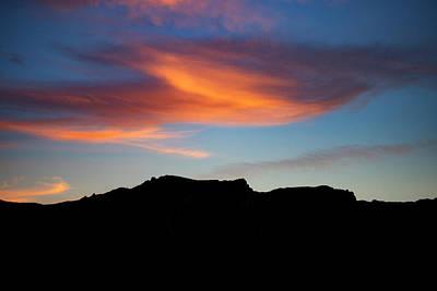 Cloud Over Mt. Boney Poster
