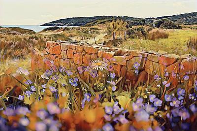 Coastal Pathway Throuigh The Dunes Poster
