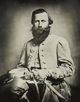 Confederate Jeb Stuart Poster