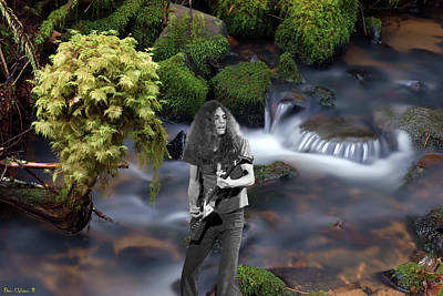 Poster featuring the photograph Creek Music #1 by Ben Upham