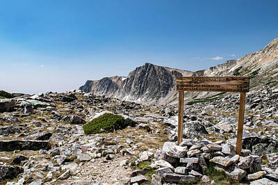 Crossroads At Medicine Bow Peak Poster