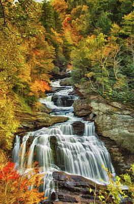 Cullasaja Falls Poster