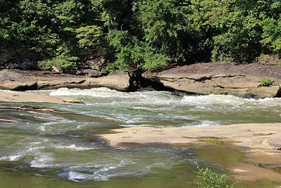 Poster featuring the photograph Cumberland River by Angela Murdock