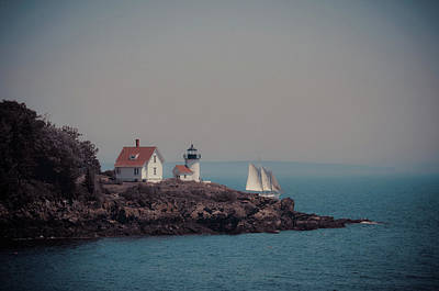 Poster featuring the photograph Curtis Island Lighthouse - Camden, Maine by Joann Vitali