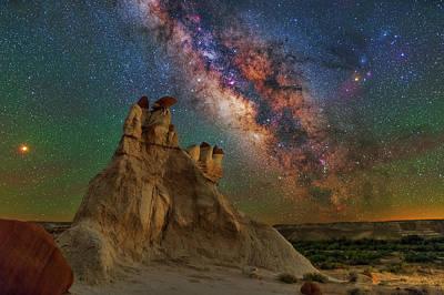 Desert Castle Poster