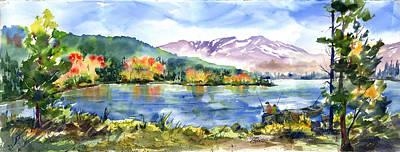 Donner Lake Fisherman Poster