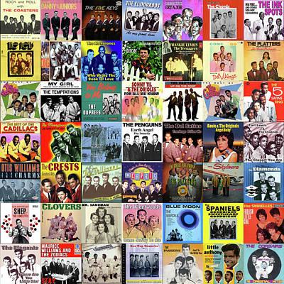 Doo Wop Singers Poster