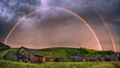 Double Rainbow Rebirth Poster