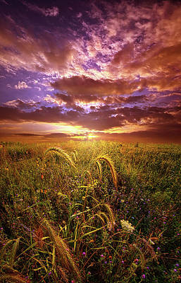 Poster featuring the photograph Drwing Near by Phil Koch