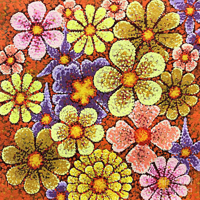 Efflorescent 6 Poster