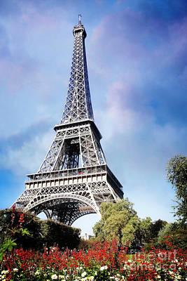 Eiffel Garden Poster