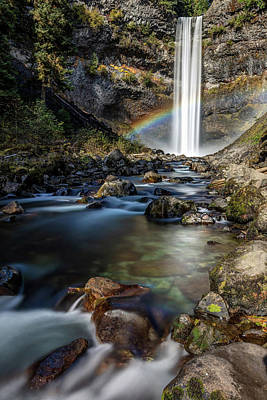 Poster featuring the photograph Enchanting Brandywine Falls by Pierre Leclerc Photography
