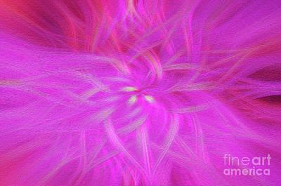 Floral Imprint Poster