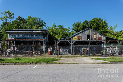 Frog Hollow General Store - Augusta Ga Poster