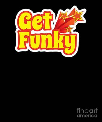 a233d80acdb10 Get Funky 1970s Disco Funk Vintage Retro Neon Light Funky Poster