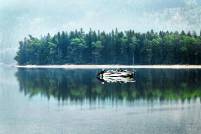 Glacier National Park Lake Reflections Poster