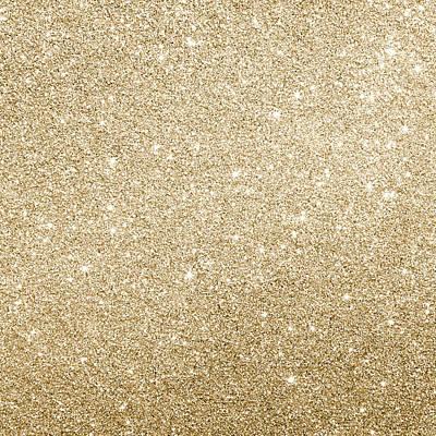 Gold Glitter Poster