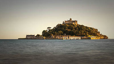 Golden Hour At St Michael's Mount Poster