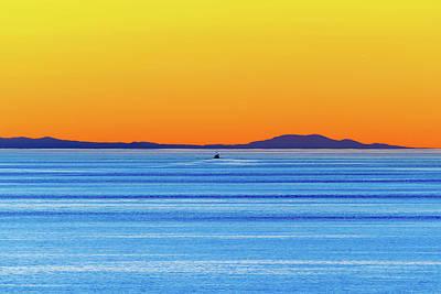 Golden Sunset Series I I Poster