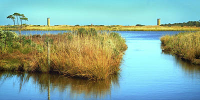 Poster featuring the photograph Gordon's Pond State Park Panorama by Bill Swartwout Fine Art Photography
