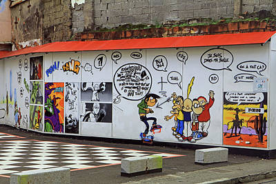 Poster featuring the photograph Graffiti by Tony Murtagh