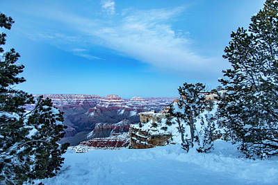 Grand Canyon Blue Hour Poster