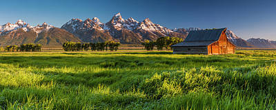 Grand Teton Np - Escaping The Crowd Poster