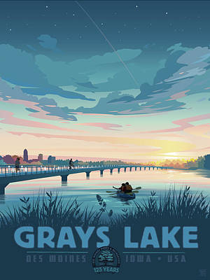 Grays Lake Poster