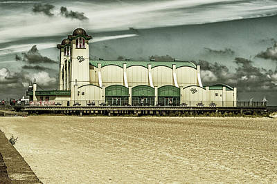 Poster featuring the photograph Great Yarmouth Wellington Pier by Scott Lyons