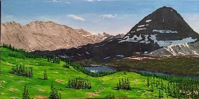 Hidden Lake Pass Poster