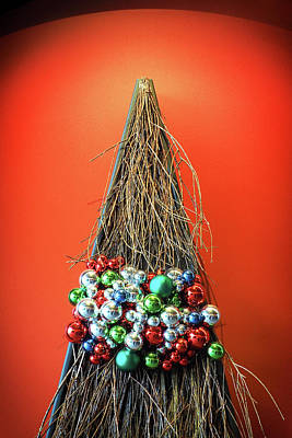 Poster featuring the photograph Holiday Twig Tree by Bill Swartwout Fine Art Photography