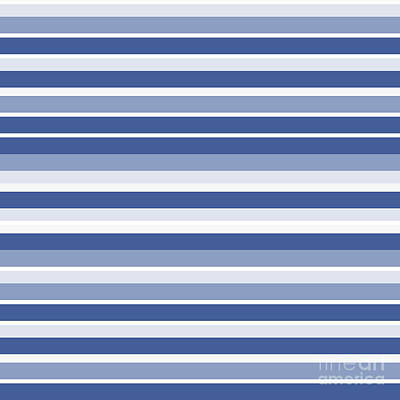 Horizontal Lines Background - Dde607 Poster