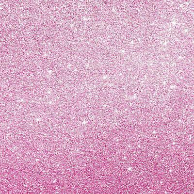 Hot Pink Glitter Poster