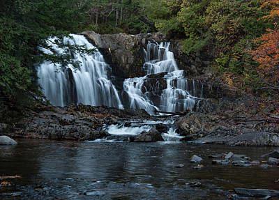 Poster featuring the photograph Houston Brook Falls by Rick Hartigan